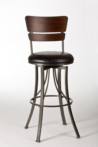 Hillsdale 5097-830 Santa Monica Swivel Bar Stool - HillsdaleSuperStore