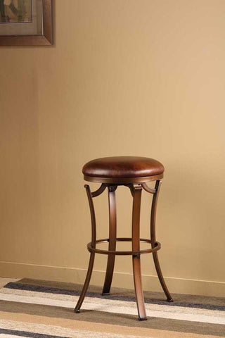 "Hillsdale Furniture 30"" 4950-830 Kelford Backless Swivel Bar Stool - HillsdaleSuperStore"