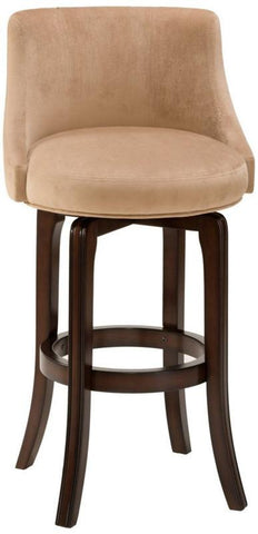 Hillsdale 4294-828I Napa Valley Swivel Counter Stool - Textured Khaki Fabric - HillsdaleSuperStore
