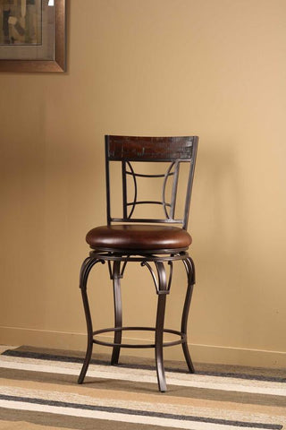Hillsdale 4702-826 Granada Swivel Counter Stool - HillsdaleSuperStore - 1