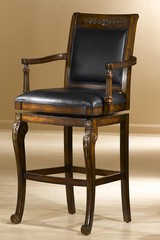 Hillsdale Douglas 30 Inch Swivel Wood Barstool 61574 - HillsdaleSuperStore