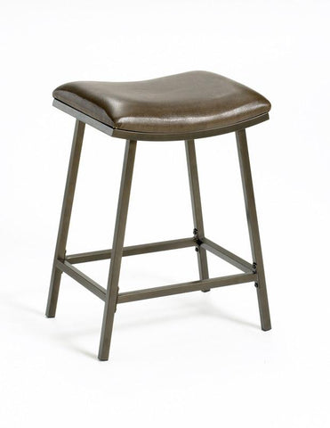 Hillsdale Saddle Counter / Bar Stool w/ Nested Leg 63725 - HillsdaleSuperStore