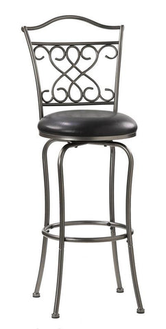 Hillsdale Wayland 24 Inch Swivel Counter Stool 4127-821 - HillsdaleSuperStore