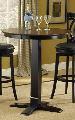 Hillsdale Dynamic Designs Pub Table Black 4975PTBBLK - HillsdaleSuperStore
