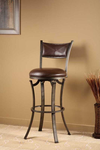 "Hillsdale Furniture 26"" 4919-826 Drummond Swivel Counter Stool - HillsdaleSuperStore"