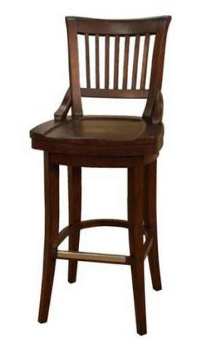 American Heritage Swivel Liberty Counter Stool 26H (126755SD) - BarstoolDirect.com - 2