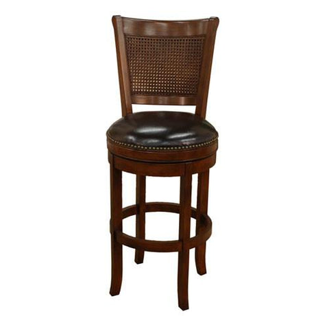 American Heritage Swivel Barletto Counter Stool 24H (124769SD-L17) - BarstoolDirect.com - 1