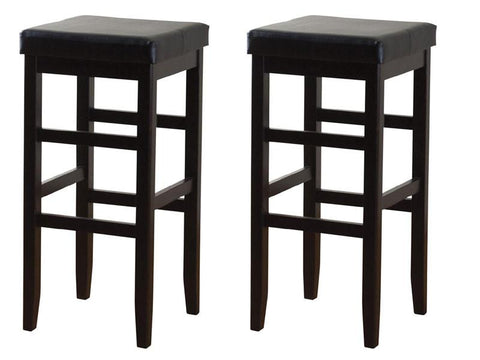 American Heritage Jensen Counter Stool 24H - Set of 2 124806BLK-V01 - BarstoolDirect.com - 1