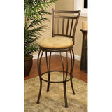 American Heritage Swivel Folio Counter Stool 24H (124831TZ-M42) - BarstoolDirect.com - 2