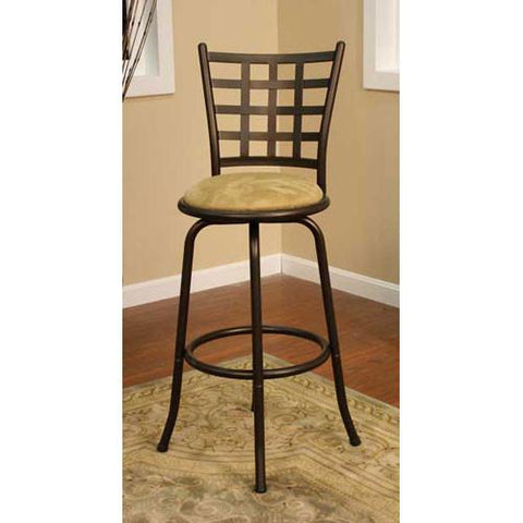 American Heritage Swivel Madera Counter Stool 24H (124832CC-M42) - BarstoolDirect.com - 1