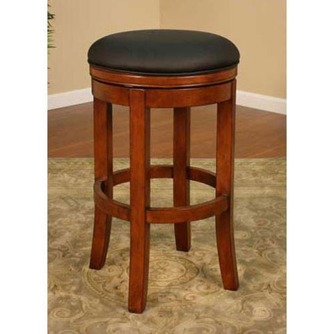 American Heritage Swivel Winston Counter Stool 26H (126774AM-L01) - BarstoolDirect.com - 1