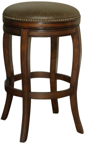 American Heritage Billiards 126891NAV Traditional Counter Stool - BarstoolDirect.com