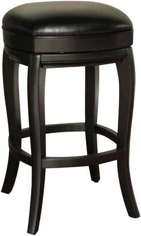 American Heritage Billiards 126903BLK-L50 Transitional Counter Stool - BarstoolDirect.com
