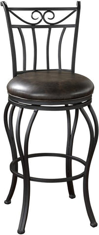 American Heritage Billiards 126913GRA Transitional Counter Stool - BarstoolDirect.com