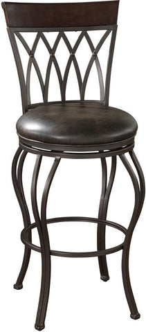 American Heritage Billiards 126915PP Transitional Counter Stool - BarstoolDirect.com
