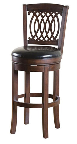 American Heritage Swivel Atwood Bar Stool 30H (130744ES-L15) - BarstoolDirect.com - 1