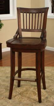 American Heritage Swivel Liberty Bar Stool 30H (130755SD) - BarstoolDirect.com - 1