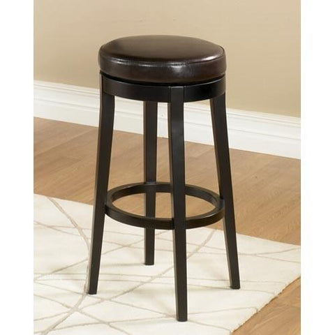 "Armen Living Mbs-450 26"" Backless Swivel Barstool - Brown (LC450BABC26) - BarstoolDirect.com - 1"