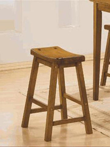 Homelegance 5302A-29 29H Stool, Rta, Oak Finish - BarstoolDirect.com
