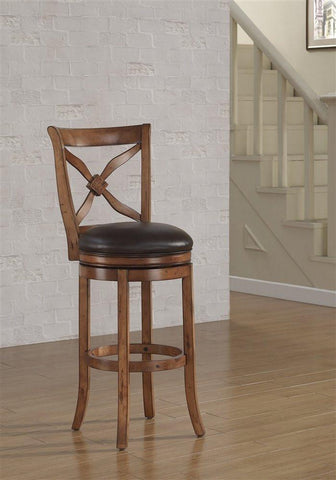 American Woodcrafters B2-201-34LSU Provence Tall Bar Stool - BarstoolDirect.com