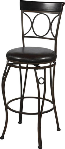 "Circles Back Bar Stool 30"" - 02731MTL-01-KD-U - BarstoolDirect.com"