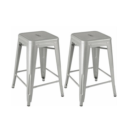 Mod Made MM-MC-009A Industrial Counter Stool 2-Pack - BarstoolDirect.com