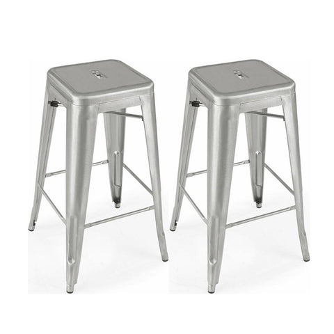 Mod Made MM-MC-009B Industrial Bar Stool 2-Pack - BarstoolDirect.com