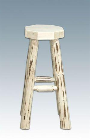 Montana Woodworks MWHCBN Homestead Collection Barstool, no Back Ready To Finish - BarstoolDirect.com