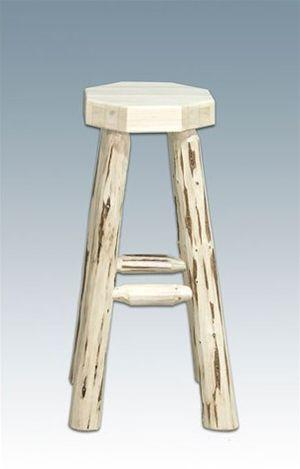Montana Woodworks MWHCBNV Homestead Collection Barstool, no Back Lacquered - BarstoolDirect.com