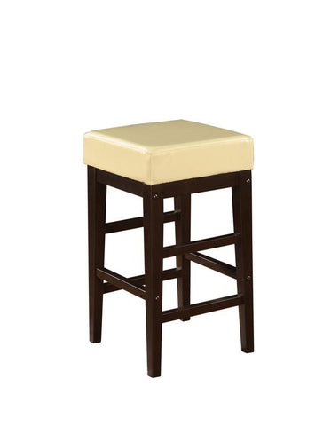 "Office Star OSP Designs ES25VS3CM 25"" Square Stool - BarstoolDirect.com"