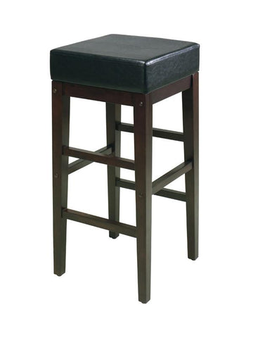 "Office Star OSP Designs ES30VS3 30"" Square Stool - BarstoolDirect.com"