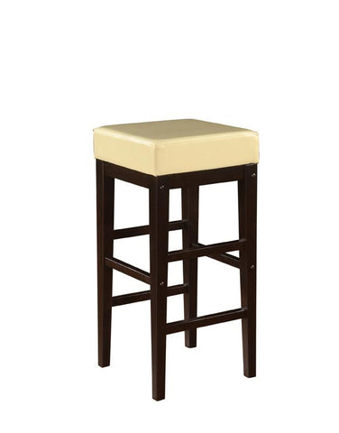 "Office Star OSP Designs ES30VS3CM 30"" Square Stool - BarstoolDirect.com"