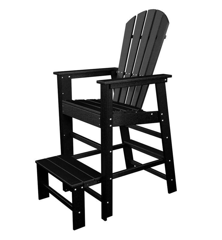 South Beach Lifeguard Chair Black 4637 Product Photo