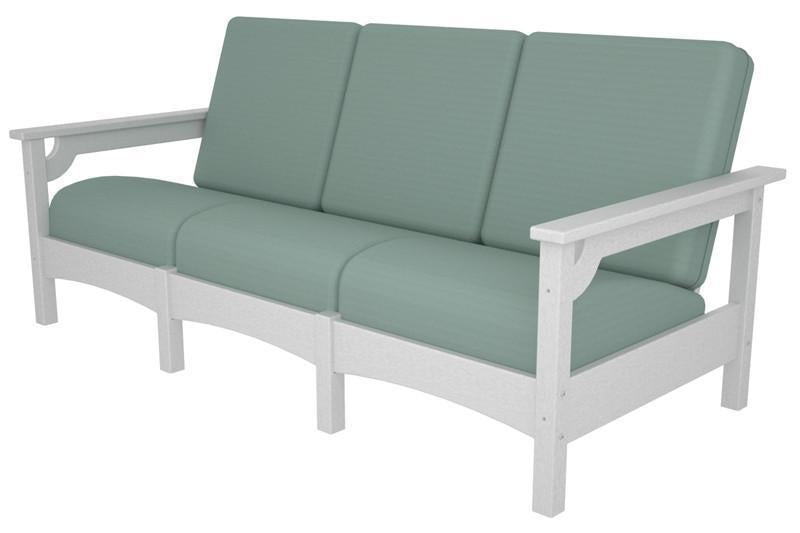 Polywood Sofa White Spa Club