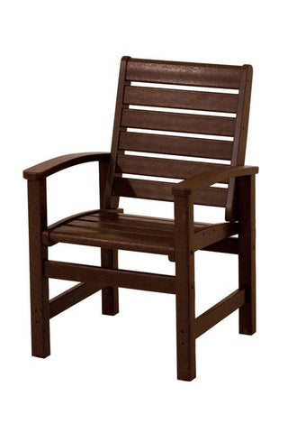 Polywood 1910-MA Signature Dining Chair in Mahogany - PolyFurnitureStore