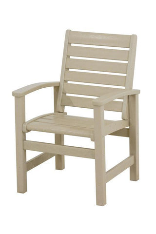 Polywood 1910-SA Signature Dining Chair in Sand - PolyFurnitureStore