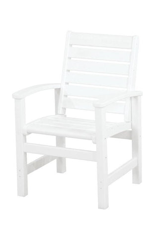 Polywood 1910-WH Signature Dining Chair in White - PolyFurnitureStore