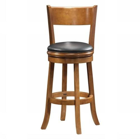 "Boraam 29"" Palmetto Swivel Stool - Fruitwood (45129) - BarstoolDirect.com"