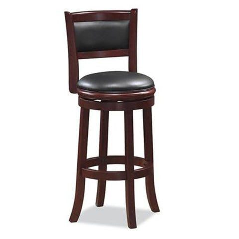 "Boraam 48829 29"" Augusta Swivel Stool - Peazz Furniture"