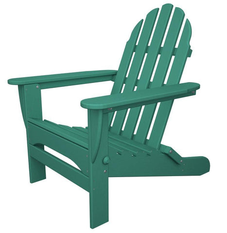 Polywood AD5030AR Classic Folding Adirondack in Aruba - PolyFurnitureStore