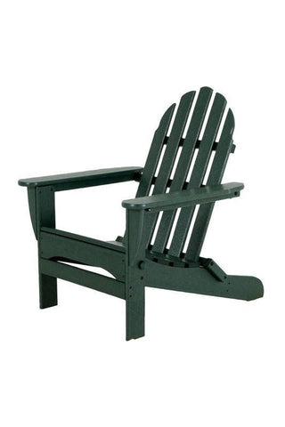 Polywood AD5030GR Classic Folding Adirondack in Green - PolyFurnitureStore