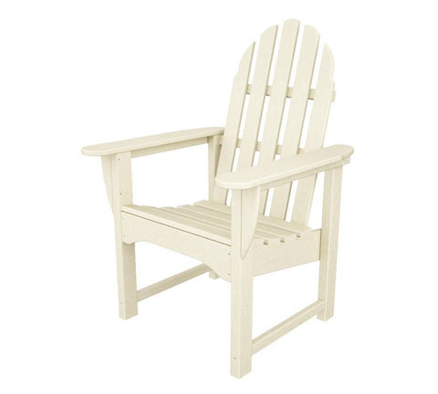 Polywood ADDC-1SA Classic Adirondack Casual Chair in Sand - PolyFurnitureStore