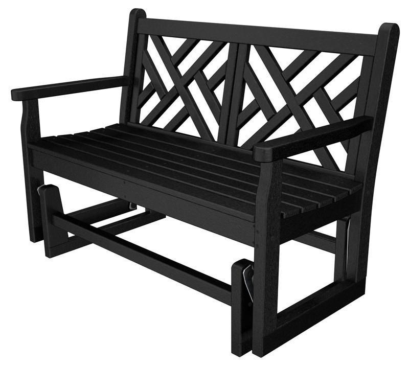 Glider Black Chippendale 2428 Product Photo