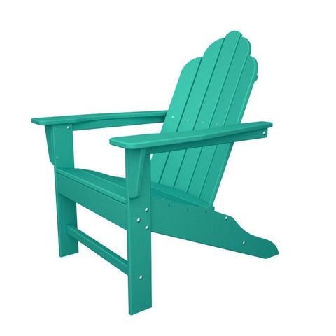 Polywood ECA15AR Long Island Adirondack in Aruba - PolyFurnitureStore