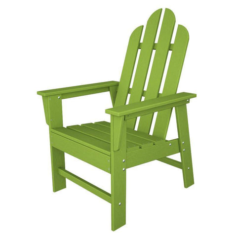 Polywood ECD16LI Long Island Dining Chair in Lime - PolyFurnitureStore