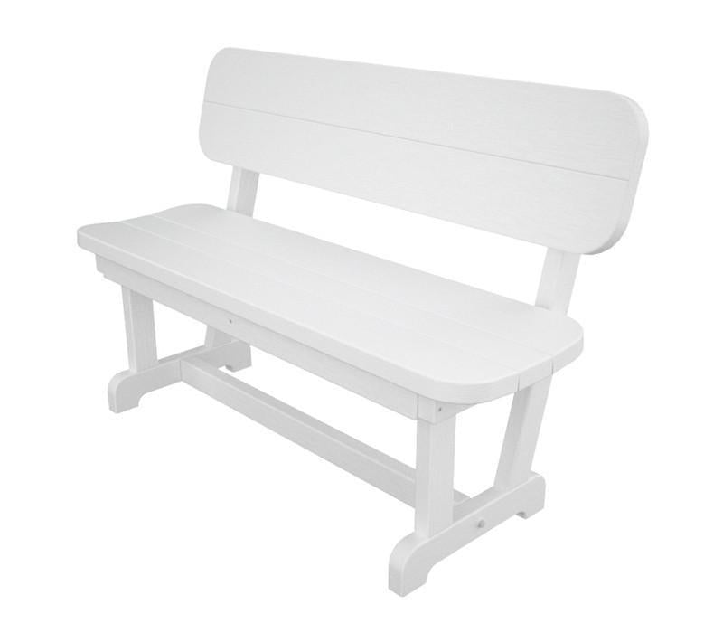 Bench White Park 3595 Product Photo