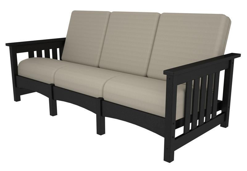 Sofa Black Birds Eye Mission 1902 Product Photo