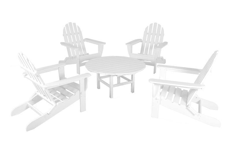 Adirondack Conversation Group White Classic Product Picture 1693