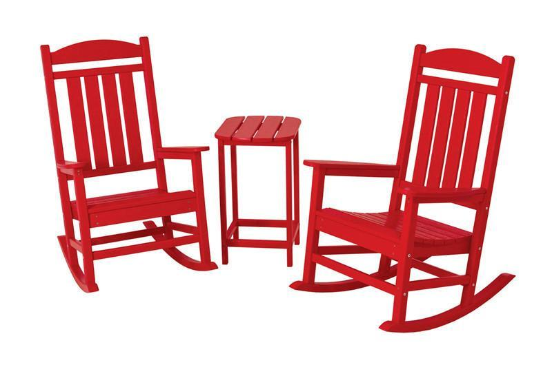 Rocker Set Sunset Red Presidential 1990 Product Photo