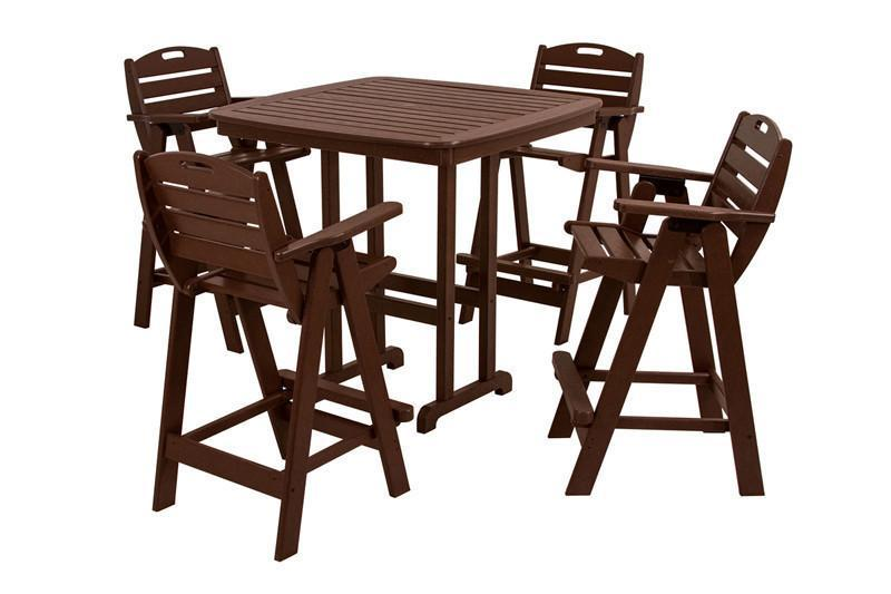 Bar Set Mahogany Nautical 2534 Product Photo